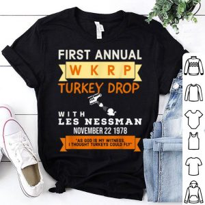 Beautiful Funny Wkrp Turkey Drop - Thanksgiving Gift shirt
