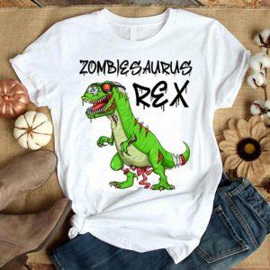 Beautiful Halloween T Rex Zombie Dinosaur Costume Zombiesaurus Rex shirt