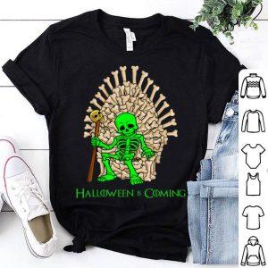 Beautiful Skeleton Bones Throne Halloween shirt