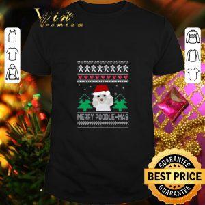 Cheap Merry Poodle Mas Christmas shirt