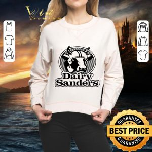 Funny Cow 100' bell Cow running back Dairy Sanders shirt 1