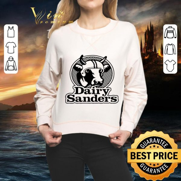 Funny Cow 100' bell Cow running back Dairy Sanders shirt