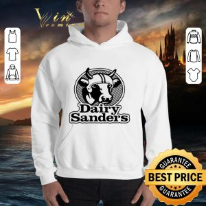 Funny Cow 100' bell Cow running back Dairy Sanders shirt 2