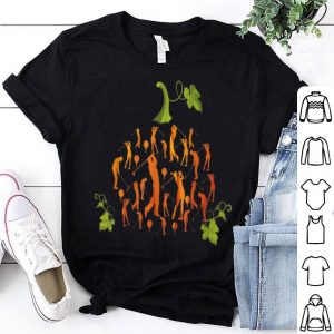 Funny Cute Pumpkin Golf Golfer Halloween Costume Gift Funny Tee shirt