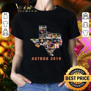 Funny Houston Astros Texas map 2019 shirt