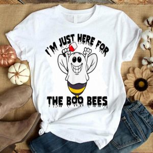 Funny I'm Just Here For The Boo Bees - Boo Bees Wine Halloween shirt