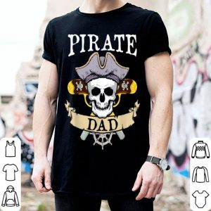 Funny Pirate Dad Halloween Matching Family Costume Gift shirt