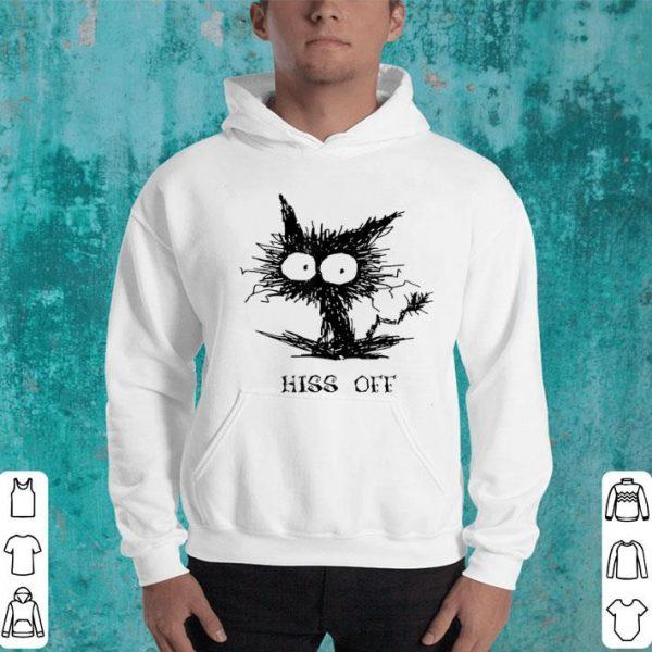 Hiss Off Funny Cat - Black Cat Funny Halloween Gift shirt
