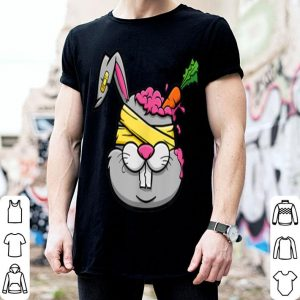 Hot Death by Carrot Zombie Bunny Rabbit Halloween Inspired Gift shirt