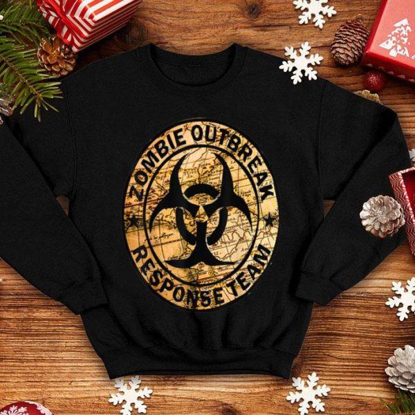 Hot Halloween Apocalypse Outbreak Zombie Response Team shirt