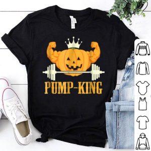 Hot Halloween Pumpkin Weightlifting Workout Gym shirt