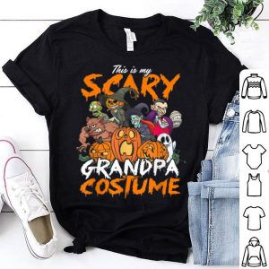 Hot Halloween Scary Grandpa Costume Party Pumpkin Gift shirt