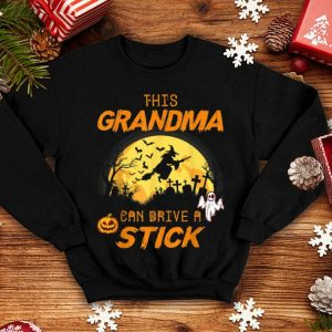 Hot This Grandma Can Drive A Stick Halloween shirt