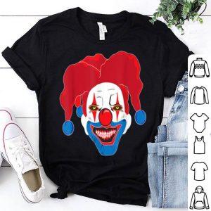 Nice French Scary Killer Clown Halloween Costume Horror Movie shirt