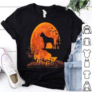 Nice Halloween Rottweiler Dog Moon Costume Gift shirt