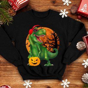 Nice Halloween T Rex Dinosaur Halloween Pumpkin Gift Boys shirt
