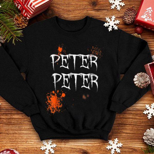 Nice Mens Peter Peter Pumpkin Eater Halloween Couples Costume shirt