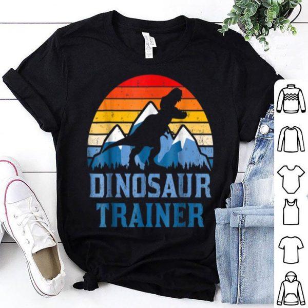 Nice Vintage Dinosaur Trainer T-Rex Halloween Costume shirt