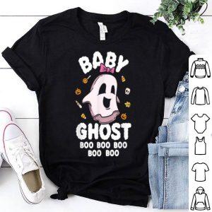 Official Baby Ghost Boo Kids Halloween Girls shirt