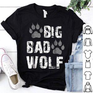 Official Big Bad Wolf Paw Print Halloween Costume shirt