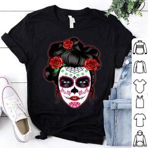 Official Dia de los Muertos Day of the Dead Skull Halloween shirt