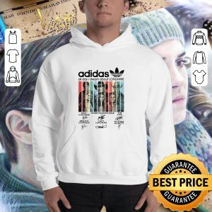 Official adidas all day i dream about Longmire signatures vintage shirt 2