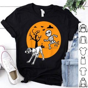 Original Boxer Dog Skeleton Bone Halloween Costume Pet Owners shirt