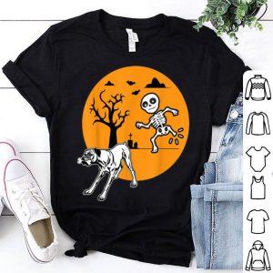 Original Boxer Dog Skeleton Bone Halloween Costume Pet Owners shirt
