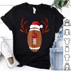Original Football Reindeer Antlers Christmas Funny shirt