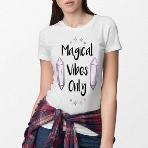 Original Magical Vibes Only Witch Wiccan Pagan Halloween Gift shirt
