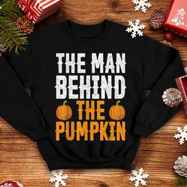 Original Mens Funny Halloween Pregnancy Announcement Pumpkin Dad Husband shirt
