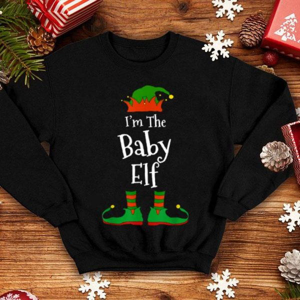Premium I'm The Baby Elf Family Matching Funny Christmas Group Gift shirt