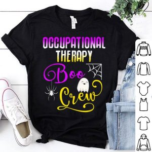 Premium Occupational Therapy Boo Crew Halloween Ghost Group Matching shirt