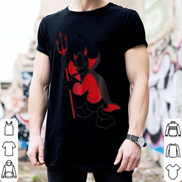 Top Disney Donald Duck Little Devil Halloween shirt