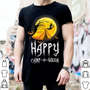 Top Happy Camp-O-Ween Funny Halloween Camping Costume Gift shirt