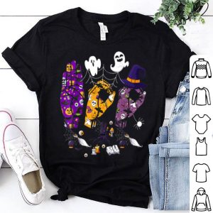 Top Pride ASL Boo Halloween Sostume Tee Funny Sign Language Gift shirt