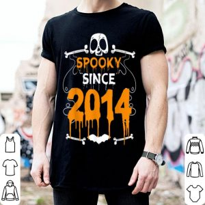Top Spooky Since 2014 Halloween Bday Gifts 5th Birthday shirt