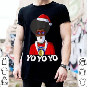 Awesome Hip Hop Santa Claus Gangster Funny Christmas shirt