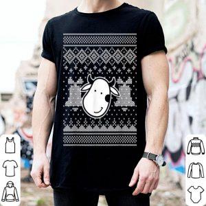 Awesome Xmas Cow Vegan Ugly Christmas shirt
