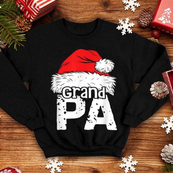 Beautiful Grandpa Santa Christmas Family Matching Pajamas Xmas Gifts shirt