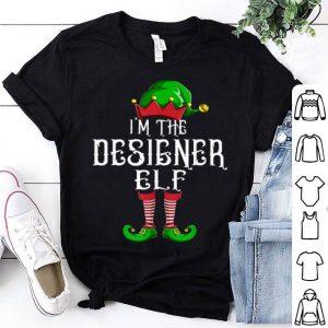 Beautiful I'm The Designer Elf Matching Family Group Christmas shirt