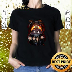Cheap Black Sabbath guitarist signatures shirt