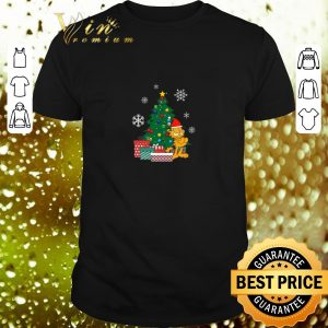 Cheap Garfield Around The Christmas Tree shirt