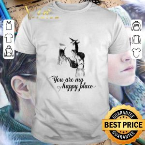 Cheap Horse and girl you are my happy place shirt