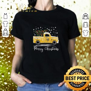 Cheap Minnesota Vikings truck Merry Christmas shirt