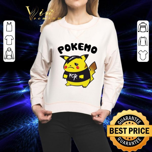 Cheap Pikachu Pokemo MCR My Chemical Romance shirt