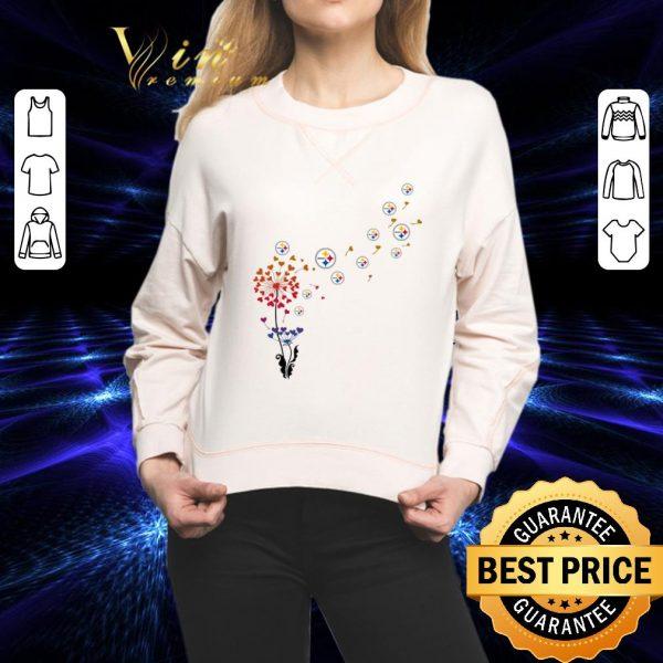 Cheap Pittsburgh Steelers dandelion flower shirt