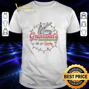 Funny Griswold's Exterior Illumination ask for sparlky Christmas shirt