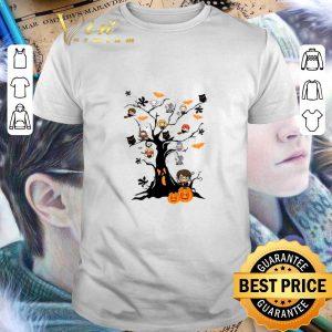 Funny Harry Potter pumpkin ghost boo on the tree Halloween shirt