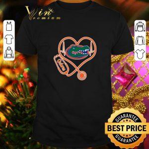 Funny Love Florida Gators Heartbeat Nurse shirt